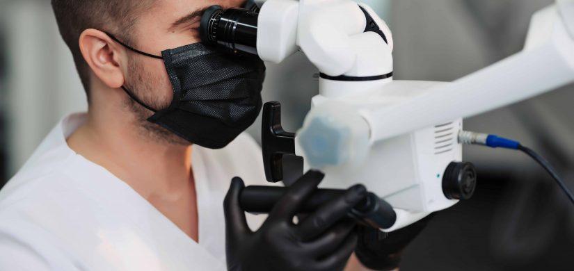 endodoncja mikroskopowa lekarz dentysta endodonta